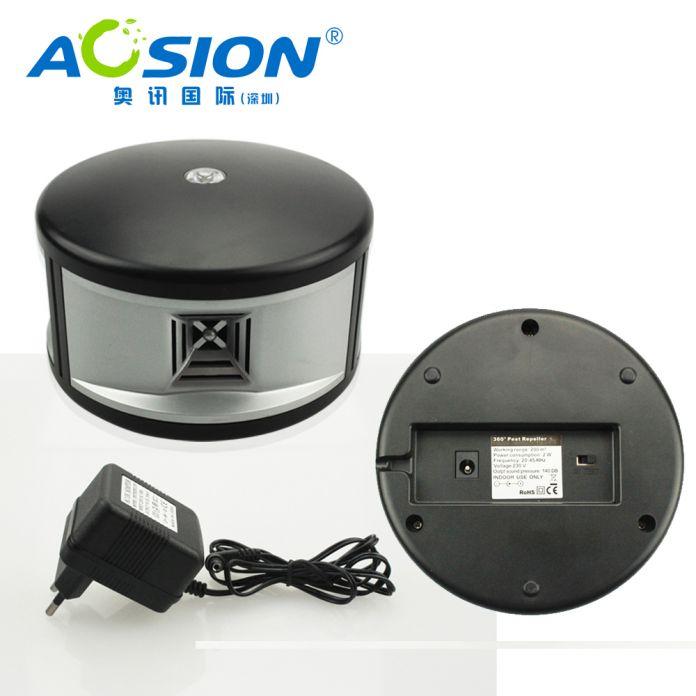 Aosion Крытый ультразвуковой 360 градусов электронный отпугиватель вредителей отпугиватель мышей, эффективная ультразвуковая отпугиватель крыс-B110
