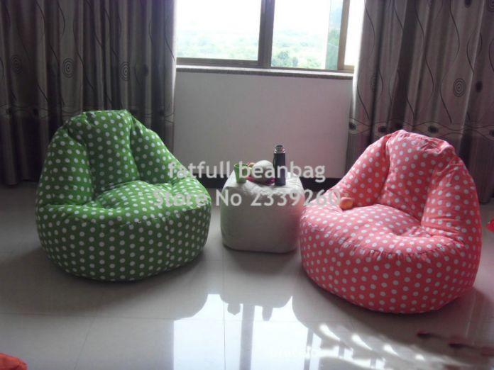 Крышка только No Filler-гостиная мешок фасоли диван кресло, главная сиденья комплект мебели, водонепроницаемый открытый погремушка диваны