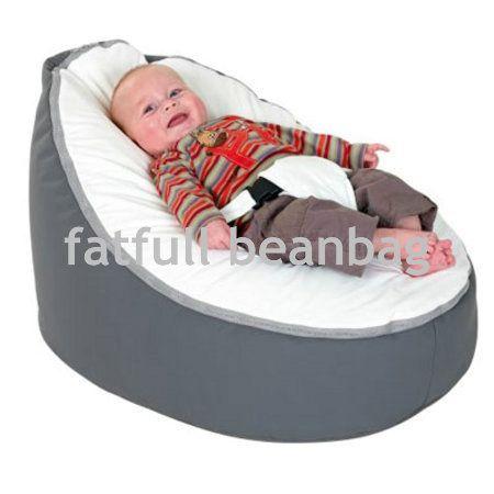 ТОЛЬКО КРЫШКА, НЕТ ПЛОМБЫ-Серый с крем стул ребенка мешок фасоли, детская погремушка диван постельное белье сиденья