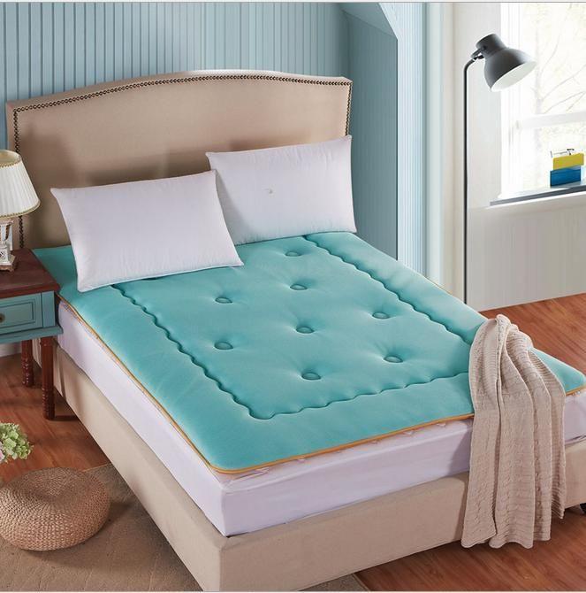 Бамбука спальный коврик одноместный / пены двойной памяти матрас складной матрас