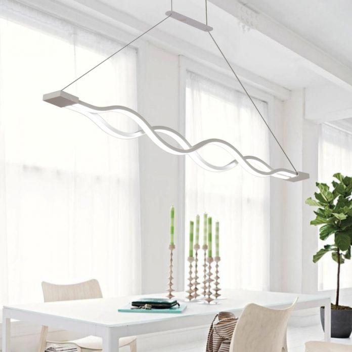 Новый licht 30 Вт/60 Вт подвеска лампа светильник лампара colgante столовая гостиная современные светодиодные подвесные светильники металл + Акрил