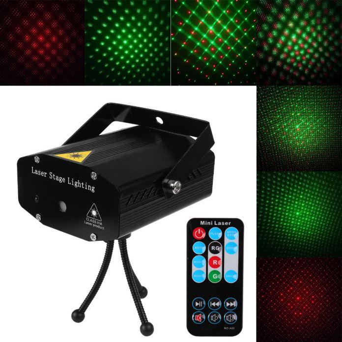 Лазерный проектор и пульт дистанционного управления