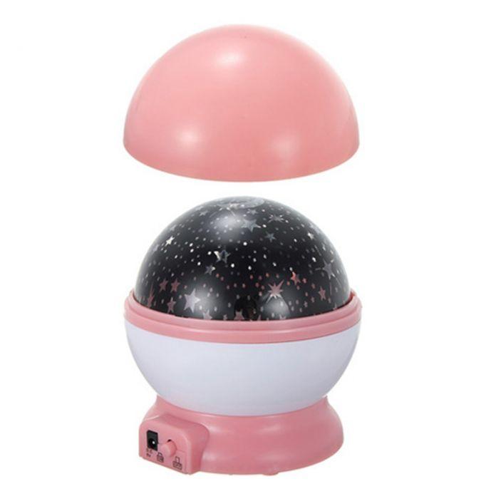 Романтический Вращения Лампы Космос Звездная Звезда Ночник Звездное Небо Проектор USB Главная Номер Украшения Большой Подарок По Уходу За Ребенком