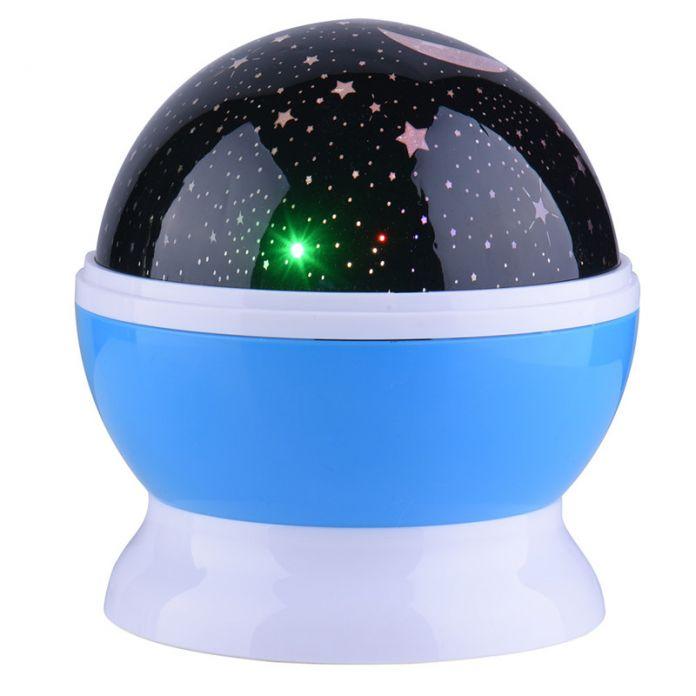 4 LED Солнце И Звезды Освещения Лампы Романтический Номер Вращающийся космос Звезда Проектор Звездное Луна Небо Ночь Проектор Малыш Спальня лампы
