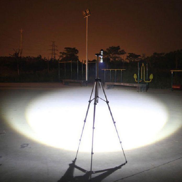 RUZK5 СВЕТОДИОДНЫЙ фонарик XML-T6 4000 LM Светодиодный фонарик Фокус лампы Масштабируемые фары + Зарядное Устройство + 2*18650 5000 мАч аккумуляторная батарея + Чехол