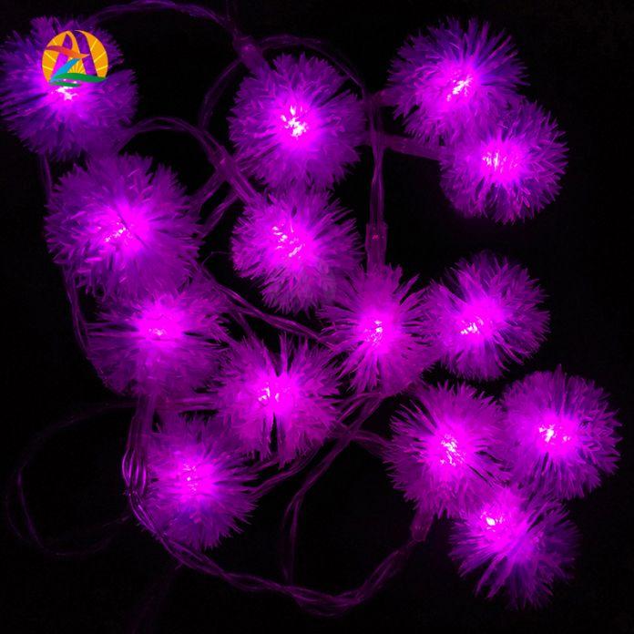2016 Новое Прибытие 9 Colores 10 М 80 Светодиодов Снежок Urbanizacion де LED luces де Cuerda Decotation Для Свадьбы Праздника 110 В 220 В