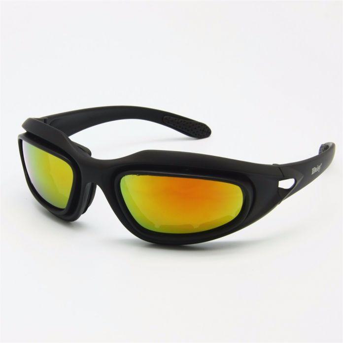 Поляризованные очки армии + 4 линзы в комплекте