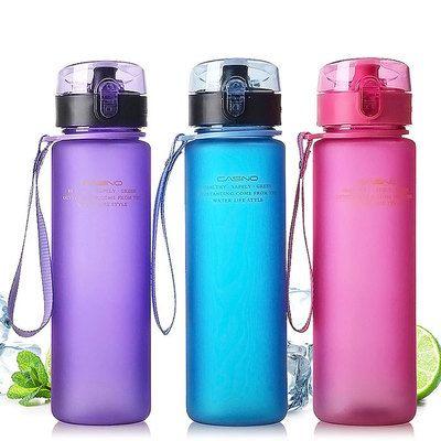 Весна кружка новые конфеты цвет бутылки с водой контракт бытовой моды пластиковая кружка Английский пункта чашки портативный чашки питья