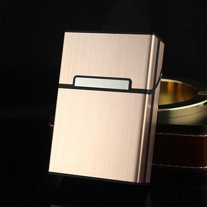 Новый Портсигар Коробка Алюминиевый Сплав Магнитный Портсигар Защитная Крышка Для Хранения Bin Box