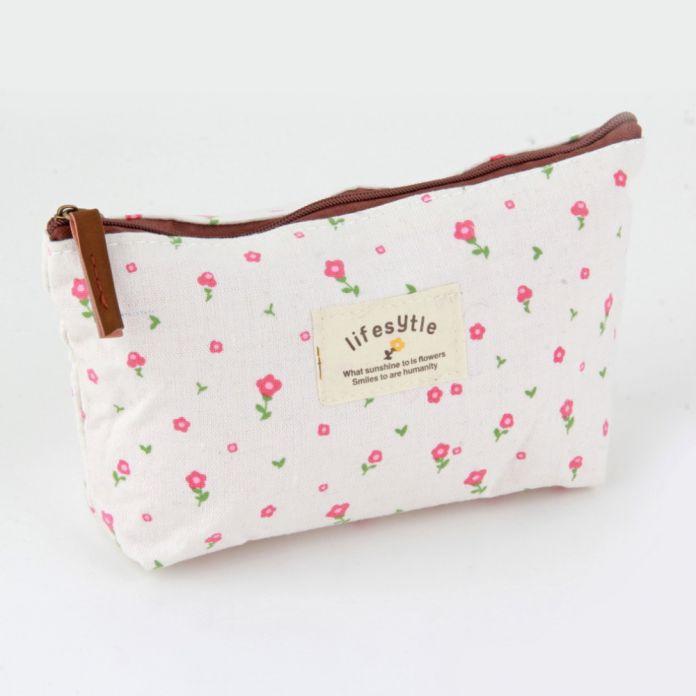 Улучшенный qualityVintage Цветок Цветочные Карандаш Pen сумка Косметический Макияж/Хранения сумка Кошелек StoreStylish