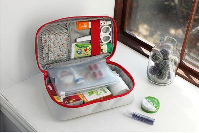 Большая Аптечка Лекарства Ящики Для Хранения Сумка Первой Помощи Красный Прямоугольник Коробка Для Хранения Сумка Лекарства Организатор для Путешествий