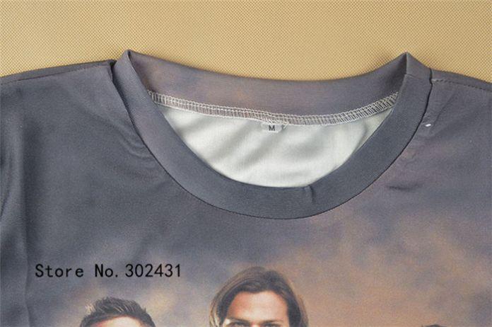 Alisister фильмы t рубашка мужчины женщины 3d печать сверхъестественное t рубашка принт свободного покроя лето короткий рукав футболки верхний