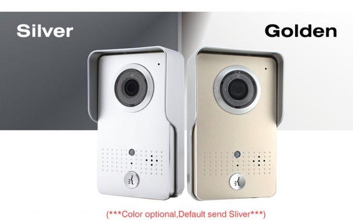 Беспроводная IP Wifi дверной звонок домофон глазок видео-телефон двери камеры дверной звонок поддержки прошивкой Android смартфон водонепроницаемая крышка