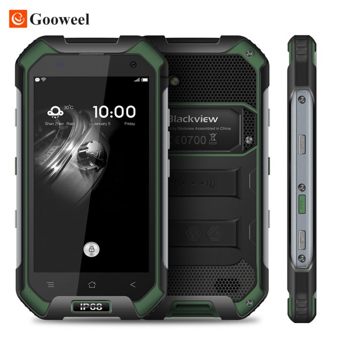 "Blackview BV6000S Смартфон 4 Г LTE Водонепроницаемый IP68 4.7 ""HD MT6735 Quad Core Android 6.0 Мобильный Сотовый Телефон 2 ГБ RAM 16 ГБ ROM 13MP"