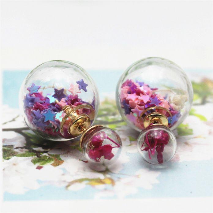 2015 новинка мода ювелирный бренд стеклянные цветы серьга искусственный жемчуг стиль заявление ромашки серьги для женщин