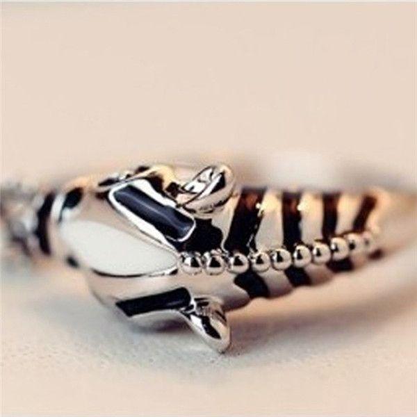 2016 женщины мода марка зебра лошадь регулируемые кольца указательный палец кольцо открытие ювелирные изделия