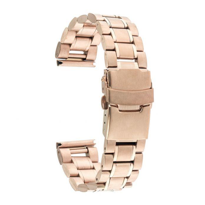 22 мм Из Нержавеющей Стали Группа Смотреть Smartwatch Ремешок Браслет для LG G смотреть W100 W110 Вежливый W150 ASUS Zenwatch 2 Галечный Время Стали