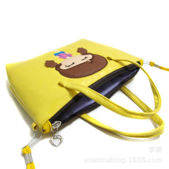2016 новых детей сумки мультфильм лук девушки дети мода мини messagers crossbody сумки дети принцесса сумка подарок для ребенка