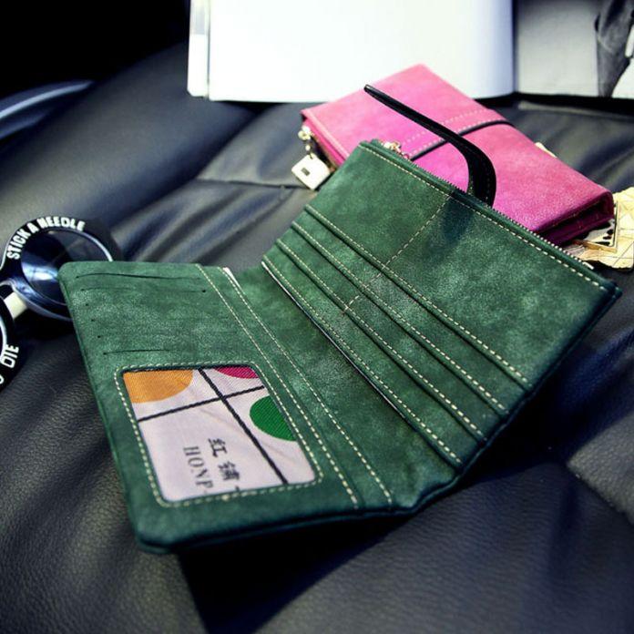 Новый ремень чековая книжка клатч изменить карты монета сумка женщины кошелек дамы сумочка бесплатная доставка