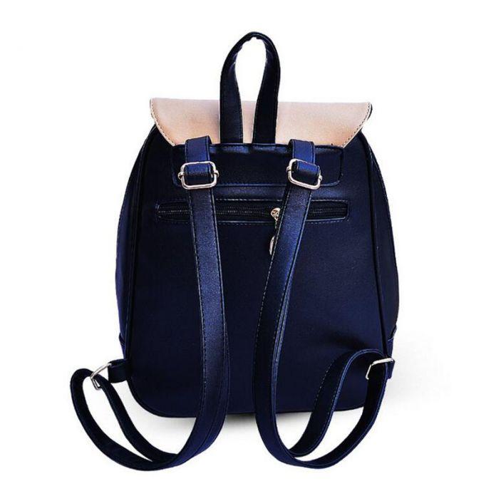 2015 женщин рюкзаки лук марка искусственная кожа рюкзак случайные сумки высокого качества девушки мешок школы для подростков 640 т