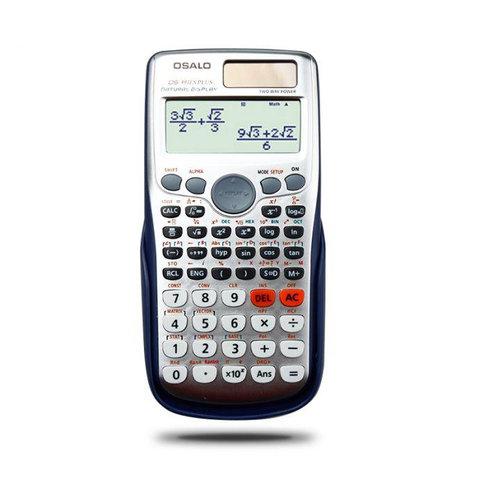 OS-991ES Супер Качество, Ученик Школы Функция Научный Калькулятор Многофункциональный Калькулятор Счетчик Расчет Machinelator