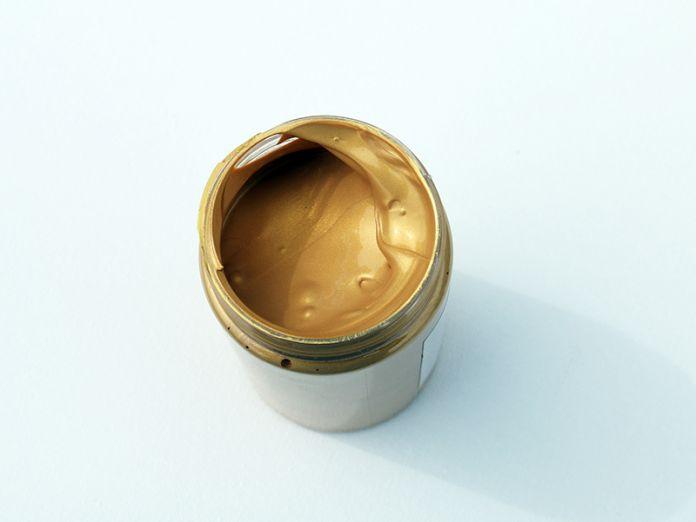 Freeshipping 300 мл акриловые краски золото серебро бронза медь настенная роспись ручная роспись краской DIY базы пигмента цвета рисунок