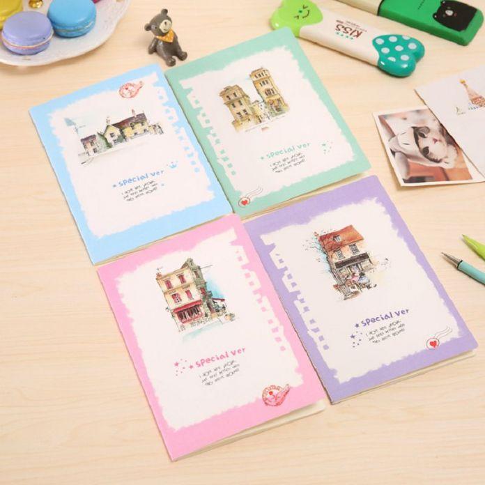 Этюдник повестка дневник девушка caderno каваи школьные принадлежности журнал личные дневники 2016 ноутбуки мило корейский канцелярские