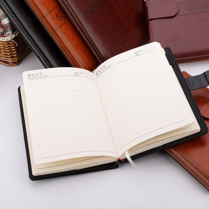 Ноутбук канцелярские коммерческий блокнот искусственной кожи B5 A5 толщиной записная книжка листов дневник крафт-бумага подарок бесплатная доставка