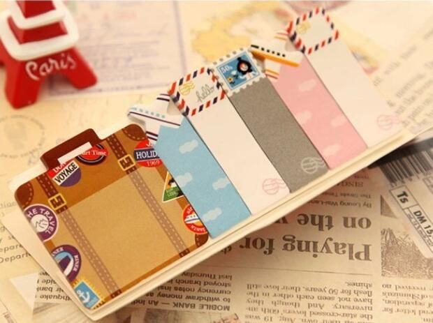 D25 каваи британского стиля и животные мини-блокнот блокнот записная книжка заметки закладки