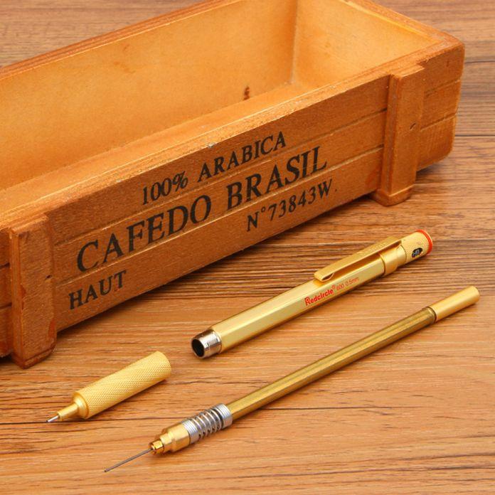 Механический Карандаш 0.5 мм 0.7 мм 2.0 мм RedCircle Разработке Металла Механический Карандаш для рисования