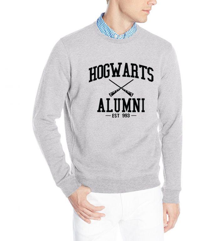 Забавный harajuku толстовка 2016 Хогвартс Гарри Поттер Магия толстовки мужчины хип-хоп флис марка костюм осень толстовка мма пуловеры