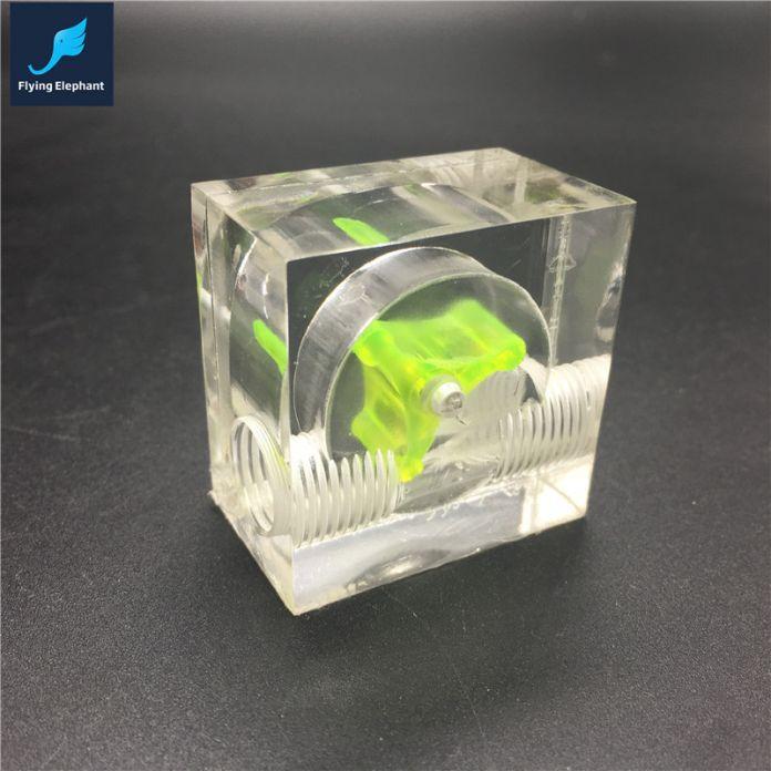 Водяное Охлаждение Расходомер Акриловая 2 и 3 Способов G1/4 спидометр поток без швов комплект охлаждения фитинги
