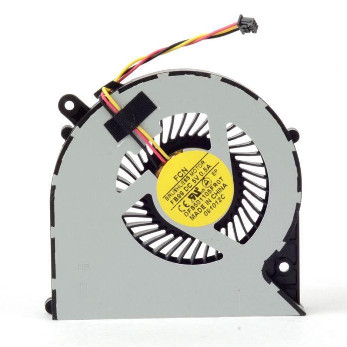 Замены Ноутбуки Компьютер Вентилятор Охлаждения CPU Cooler Питания 5 В 0.5A Аксессуары, Пригодный Для Toshiba C850/C870/L850 3 Pin F1174 P72