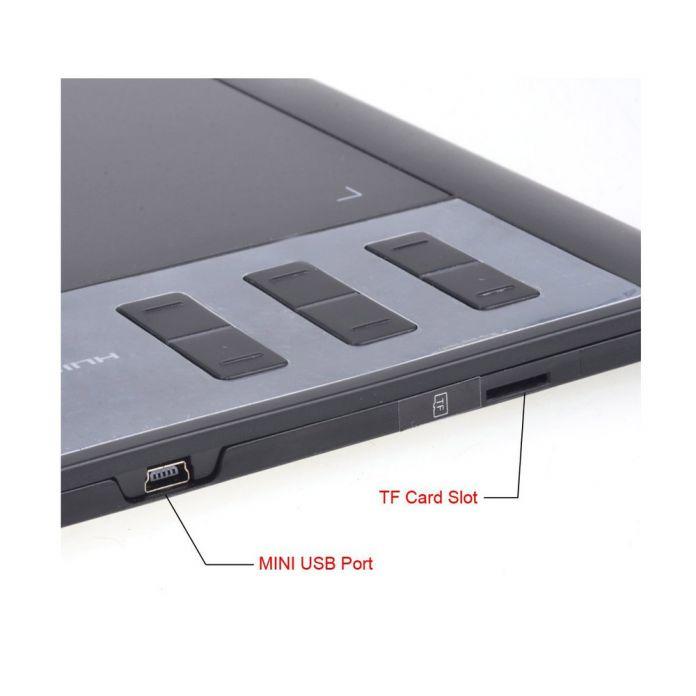 """Huion 1060 PRO + 10 """"Цифровой Подписи Графические Планшеты Tablet Профессиональный Анимации Чертежная Доска Grafica Tableta С 4 Г памяти"""