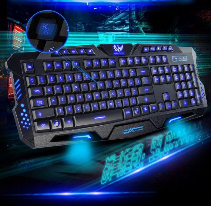 Usb-проводной подсветка клавиатуры профессиональная игровой клавиатуры лол Dota2 механические чувство ключ доски для PC компьютер