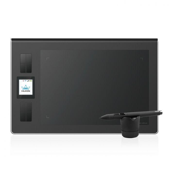 9 x 10 дюймов профессиональное искусство Grafiktablett 2.4 г беспроводной цифровой планшет 250 RPS графические планшеты графический с ручкой для компьютера
