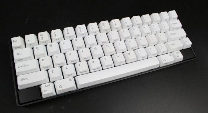 Новое Прибытие Бесплатная доставка Белый Черный Топ-печатные Заготовки OEM Профиль PBT Колпачки Для HHKB 60% MX Переключатели Механическая клавиатура