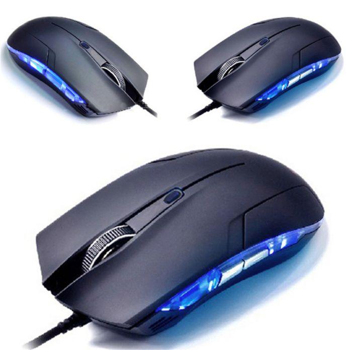 Mecall Кобра Оптический 1600 ТОЧЕК/ДЮЙМ USB Gaming Проводная Игры Мышь Для Игры Портативных ПК Новый