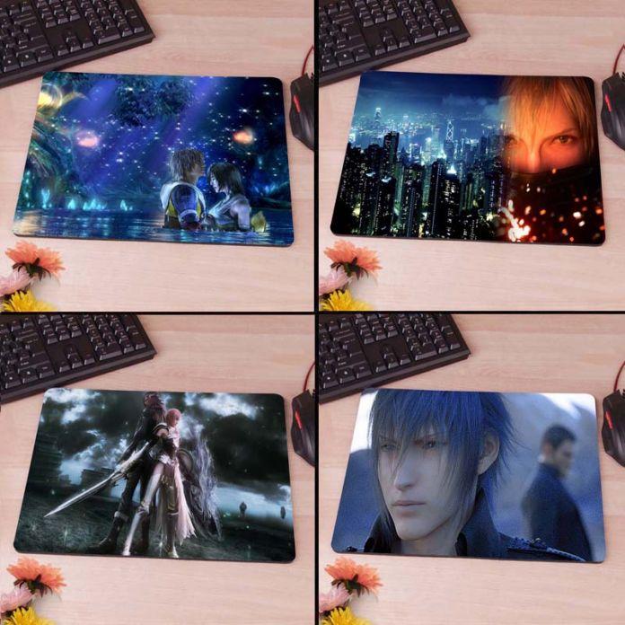 Final Fantasy X Ночное Небо Компьютер Игровой Коврик для Мыши Резиновый Коврик