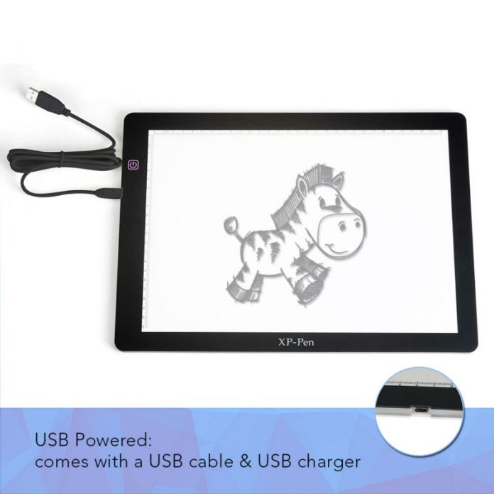 """Xp - ручка A4S 18 """" из светодиодов трассировка площадку световой короб / свет площадку трек стол / живопись пластины / планшет с USB кабель"""