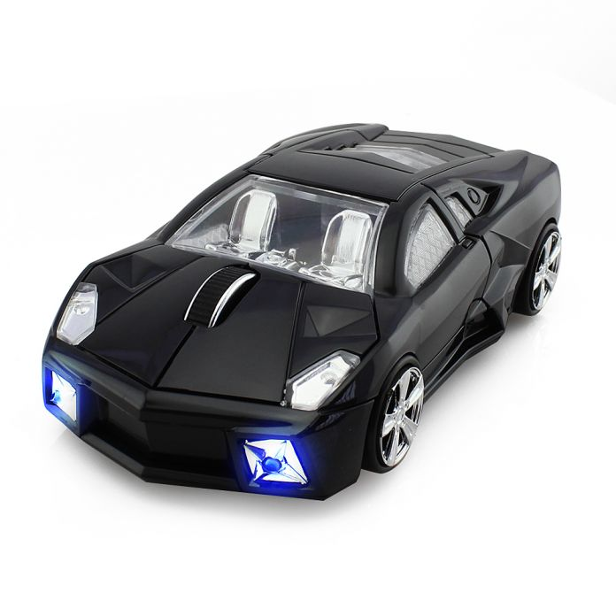 Беспроводной 2.4 ГГц 1600 ТОЧЕК/ДЮЙМ Супер Спорт Формы Автомобиля Оптическая Мышь Мыши Мыши Игры Мышь Игровая Мышь для Компьютера PC ноутбука Геймера