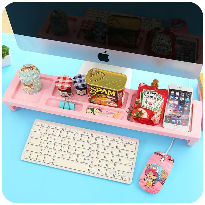 Творческим бюро организатор DIY пластмассовый касса стол организатор канцелярские держатель стойки