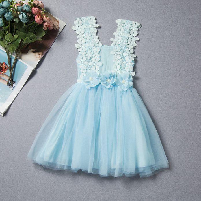 2016 лето кружева девушки платье фея дети платье принцессы для свадьбы девушки цветка платье vestido infantil девушки бальные платья