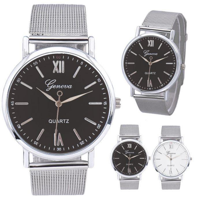 2016 новый Простой мужской Моды роскошные часы известных брендов Моды случайные Роскошные Мужчины Контракт Модные Часы Стали Группа Смотреть