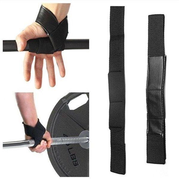 Тяжелых атлетический ремни тренажерный зал ремни руки запястье ладонью хлопка-ватник бар поддержки перчатки обертывания бодибилдинг тренировки