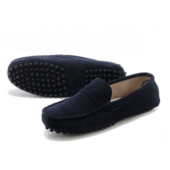 Новый Натуральная Кожа мужчины плоские туфли Мягкие Мокасины мужские мокасины Квартиры вождения Горох Обувь Мода Повседневная обувь Горячей Продажи