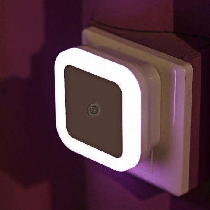 Мини светодиодный 0.5 Вт Night Light Control Auto Датчик