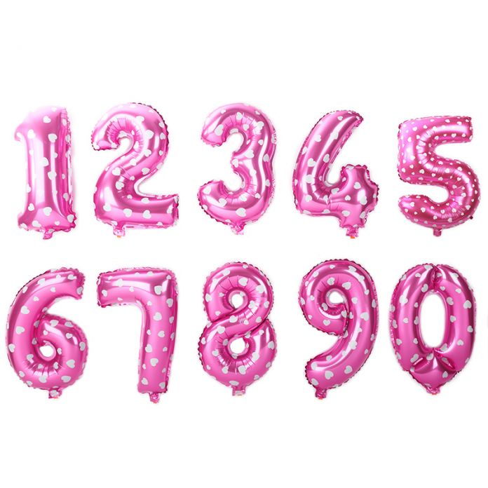 """32 inch Золото Серебро Количество Воздушные Шары 0-9 Цифра Гелия Воздушный Шар Фольги Для Празднования Дня Рождения Украшения Globas Игрушки Balony 32"""""""