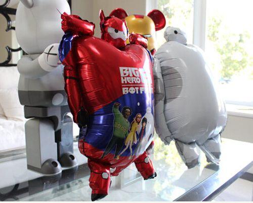 Big Hero Baymax Воздушные Шары Классические Игрушки Рождество День Рождения Свадебные Украшения воздушный шар Партии Надувные Фольгированных Шаров Globos