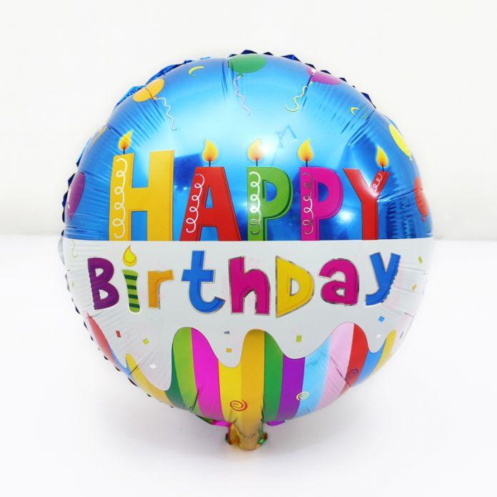 1 Шт. 18 дюймов алюминиевый сердце воздушный шар дети день рождения праздничные атрибуты украшения С Днем рождения мультфильм гелиевые шары